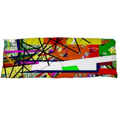 Colorful Abstraction By Moma Body Pillow Case Dakimakura (two Sides) by Valentinaart