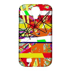 Colorful Abstraction By Moma Samsung Galaxy S4 Classic Hardshell Case (pc+silicone) by Valentinaart