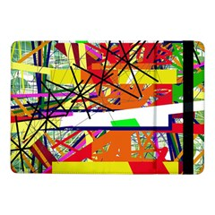 Colorful Abstraction By Moma Samsung Galaxy Tab Pro 10 1  Flip Case by Valentinaart