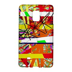 Colorful Abstraction By Moma Galaxy Note Edge by Valentinaart