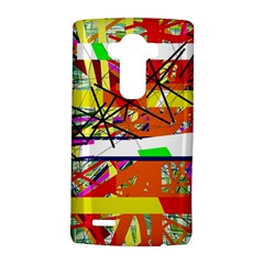Colorful Abstraction By Moma Lg G4 Hardshell Case by Valentinaart