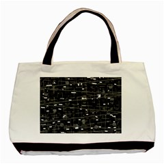 Simple Gray Basic Tote Bag by Valentinaart