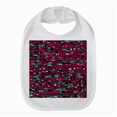 Magenta Decorative Design Bib by Valentinaart