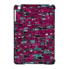 Magenta Decorative Design Apple Ipad Mini Hardshell Case (compatible With Smart Cover) by Valentinaart