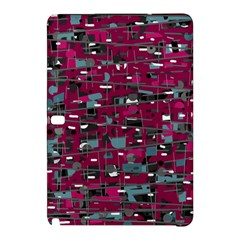 Magenta Decorative Design Samsung Galaxy Tab Pro 10 1 Hardshell Case by Valentinaart