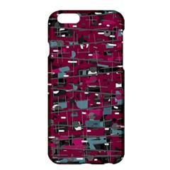 Magenta decorative design Apple iPhone 6 Plus/6S Plus Hardshell Case