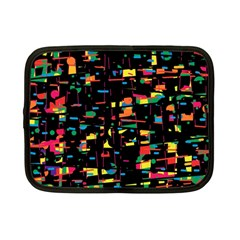 Playful Colorful Design Netbook Case (small)  by Valentinaart