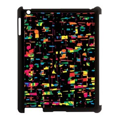 Playful Colorful Design Apple Ipad 3/4 Case (black) by Valentinaart