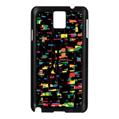 Playful Colorful Design Samsung Galaxy Note 3 N9005 Case (black) by Valentinaart