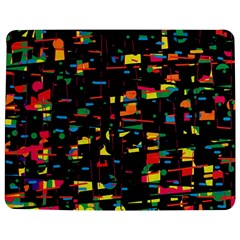 Playful Colorful Design Jigsaw Puzzle Photo Stand (rectangular) by Valentinaart