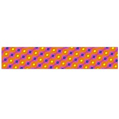 Vibrant Retro Diamond Pattern Flano Scarf (Large)