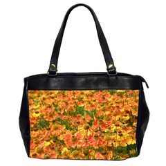 Helenium Flowers And Bees Office Handbags (2 Sides)  by GiftsbyNature