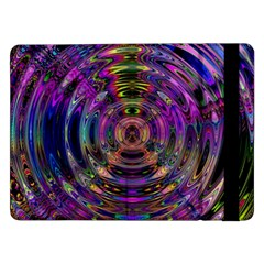 Color In The Round Samsung Galaxy Tab Pro 12.2  Flip Case by Zeze