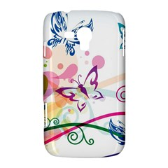 Butterfly Vector Art Samsung Galaxy Duos I8262 Hardshell Case  by Zeze