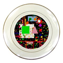 Colorful facroty Porcelain Plates by Valentinaart