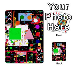Colorful Facroty Playing Cards 54 Designs