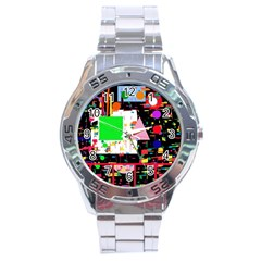 Colorful Facroty Stainless Steel Analogue Watch by Valentinaart