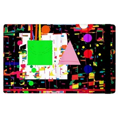 Colorful Facroty Apple Ipad 2 Flip Case by Valentinaart