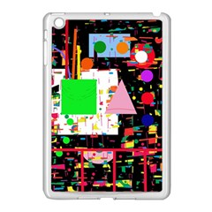 Colorful Facroty Apple Ipad Mini Case (white) by Valentinaart
