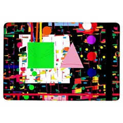 Colorful Facroty Ipad Air Flip by Valentinaart