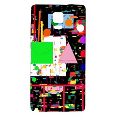 Colorful Facroty Galaxy Note 4 Back Case by Valentinaart