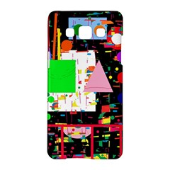 Colorful Facroty Samsung Galaxy A5 Hardshell Case  by Valentinaart