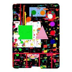 Colorful Facroty Samsung Galaxy Tab S (10 5 ) Hardshell Case  by Valentinaart