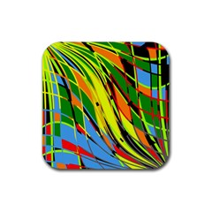 Jungle Rubber Coaster (square)  by Valentinaart