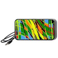 Jungle Portable Speaker (black)  by Valentinaart