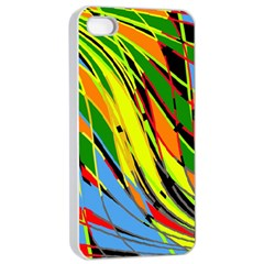 Jungle Apple Iphone 4/4s Seamless Case (white) by Valentinaart