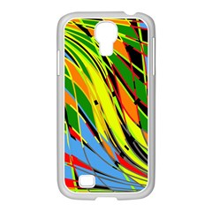 Jungle Samsung Galaxy S4 I9500/ I9505 Case (white) by Valentinaart