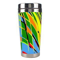 Jungle Stainless Steel Travel Tumblers by Valentinaart
