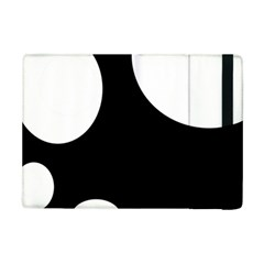 Black And White Moonlight Ipad Mini 2 Flip Cases by Valentinaart