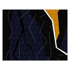 Digital Abstraction Rectangular Jigsaw Puzzl