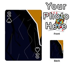 Digital Abstraction Playing Cards 54 Designs  by Valentinaart