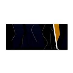 Digital Abstraction Hand Towel by Valentinaart