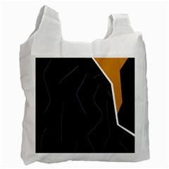 Digital Abstraction Recycle Bag (two Side)  by Valentinaart