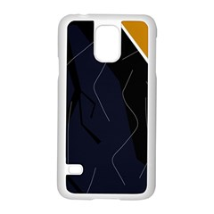 Digital Abstraction Samsung Galaxy S5 Case (white) by Valentinaart