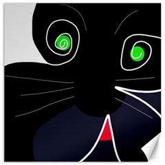 Big Cat Canvas 20  X 20   by Valentinaart