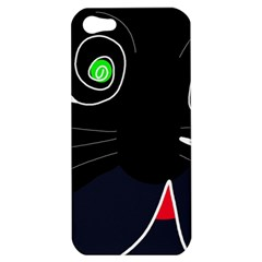 Big Cat Apple Iphone 5 Hardshell Case by Valentinaart