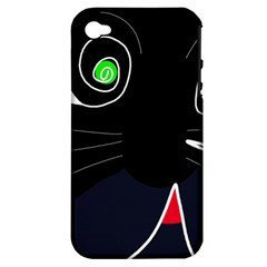 Big Cat Apple Iphone 4/4s Hardshell Case (pc+silicone) by Valentinaart