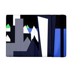 Glacier Apple Ipad Mini Flip Case by Valentinaart