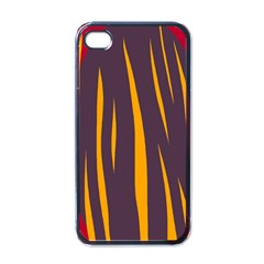 Fire Apple Iphone 4 Case (black) by Valentinaart