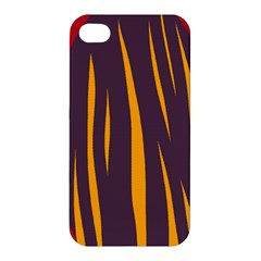 Fire Apple Iphone 4/4s Premium Hardshell Case by Valentinaart
