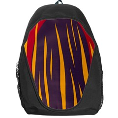 Fire Backpack Bag by Valentinaart