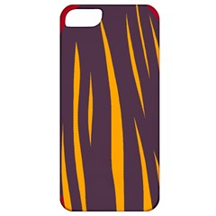 Fire Apple Iphone 5 Classic Hardshell Case by Valentinaart
