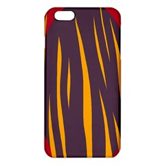 Fire Iphone 6 Plus/6s Plus Tpu Case by Valentinaart