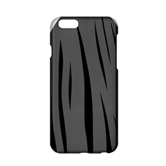 Gray, Black And White Design Apple Iphone 6/6s Hardshell Case by Valentinaart