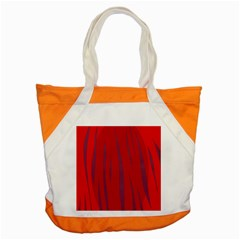Hot Lava Accent Tote Bag by Valentinaart