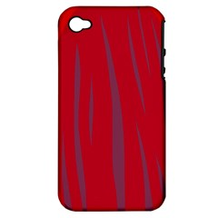 Hot Lava Apple Iphone 4/4s Hardshell Case (pc+silicone) by Valentinaart